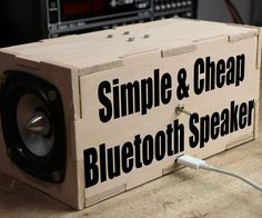 In this project I will show you how to build a simple portable bluetooth speaker that can play its tunes up to 30 hours continuously. Most of the used components can be found for only 22$ in total which makes this a pretty low budget project. Let's get started!