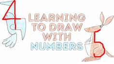 Learning To DRAW WITH NUMBERS l 5-MINUTE CRAFTS