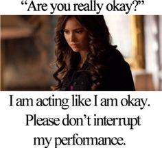 """are u really ok? no i am not."" by theninadobrev ❤ liked on Polyvore"