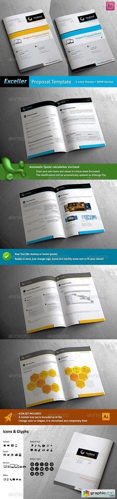 Sleek Proposal - Professional Proposal Template Proposal - proposal templates