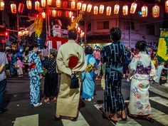 Wearing a yukata when attending Bon Odori events like this one in Kappabashi's main street is almost mandatory anywhere in Japan; even more so in Asakusa! #Asakusa, #Kappabashi, #Bon, #Odori 2/2 August 8, 2015 © Grigoris A. Miliaresis