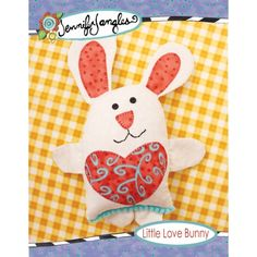 Little Love Bunny Sewing Pattern | Jennifer Jangles