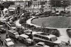 Rijswijkseplein Den Haag (jaartal: 1950 tot 1960) - Foto's SERC La Haye, I Amsterdam, The Hague, Old Pictures, Netherlands, Dutch, Dolores Park, Old Things, Memories