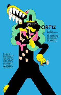 s ortiz poster by deforgeo, via Flickr