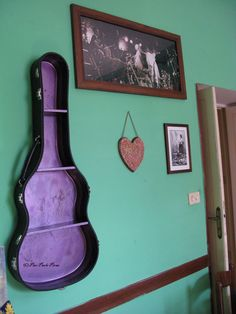 Guitar Case Shelf  #guitar #shelf #diy