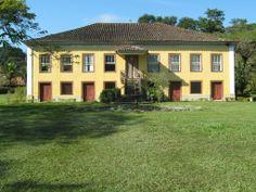 """Fazenda histórica """"Resgate"""", Bananal, São Paulo, Brasil"""