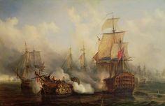 21. Oktober 1805: Die Schlacht von Trafalgar war die letzte große Seeschlacht...  Lord Horatio Nelson rettet England vor Napoleon.