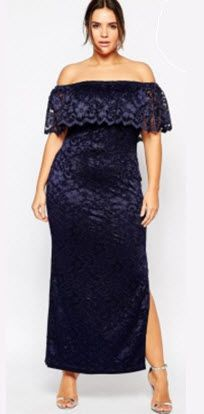 Full-figured modern ladies also could be sexy with sexy plus size dresses online selling. Plus Shelf Bandeau Maxi Dress in Lace is one included, soft, mid-weight lace with fully lined, stretch off-sho Evening Dresses Plus Size, Plus Size Maxi Dresses, Plus Size Outfits, Wrap Dresses, Dresses 2016, Sleeve Dresses, Sexy Dresses, Plus Size Womens Clothing, Plus Size Fashion