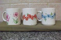 tazas de ceramica pintados a mano - Buscar con Google
