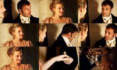 Mr Knightley: Who will you dance with, hm?  Emma: Why you, if you will ask me.  Mr Knightley: Will you dance, dear Emma?    -Emma 2009-