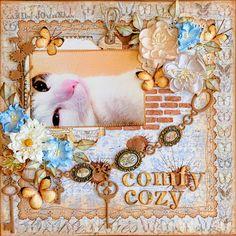 Comfy Cozy***Blue Fern Studios*** - Scrapbook.com