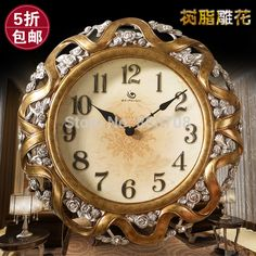 Wall: Plush Design Beautiful Wall Clocks In Conjunction With Modern  Decorative Antique Bed Bath Image