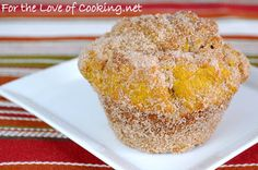 For the Love of Cooking » Baked Pumpkin Donut Muffins