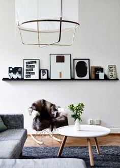 An Ikea employee's apartment in Sweden (desiretoinspire.net)