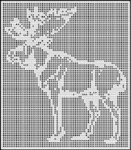 moose crochet afghan pattern