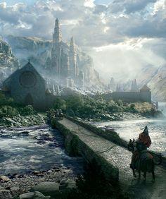 Epic Fantasy Landscape by Tony Andreas Rudolph