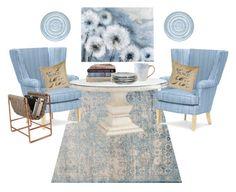 """Breakfast nook"" by cms-teacher on Polyvore featuring interior, interiors, interior design, home, home decor, interior decorating, Loloi Rugs, Ballard Designs and iittala"