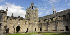 One of the historic buildings of the University of Aberdeen