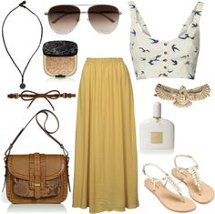 """Golden"" by alayaya on Polyvore"