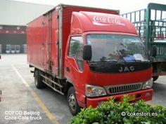 COFCO Beijing Coca-Cola truck