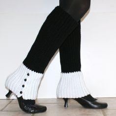 Steampunk legwarmer pattern . keep your self toasty warm with style!