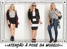 5 dicas para não errar comprando roupa online   »Dica 1: Preste bem atenção na pose da modelo.