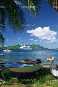 Caribbean, French Antilles, Guadeloupe, Ile des Saintes