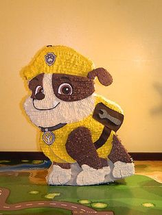 Bull Dog Pinata Custom Hand Made Piñata Use for A Paw Patrol Birthday | eBay