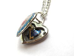 Doctor Who Heart of the Tardis Locket by TimeMachineJewelry, $22.00