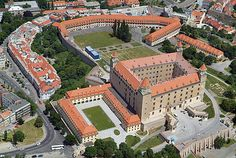 Bratislavský hrad – Wikipedie Bratislava, Aerial View, Mansions, History, House Styles, City, Places, Nature, Wikimedia Commons