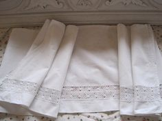 Beautiful Vintage French Cotton & Lace by VintageFrenchFinds, $12.00