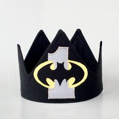 A personal favorite from my Etsy shop https://www.etsy.com/listing/604263875/batman-birthday-crown-batman-birthday