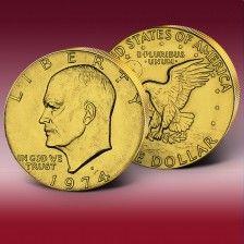 """Pamětní dolar """"1$ Dwight D. Eisenhower"""" Personalized Items"""