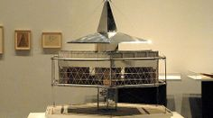 Buckminster Fuller - 4D House model (later called the Dymaxion House), 1928. Photo: Alana Range
