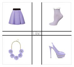 Lilac by claudiadarcy101 on Polyvore featuring polyvore, fashion, style, FAUSTO PUGLISI, Dorothy Perkins, Le Silla and BaubleBar. I hope you like the set ! Follow and like to see more !   Instagram : _polyvore_fashionista101_ Polyvore : claudiadarcy101