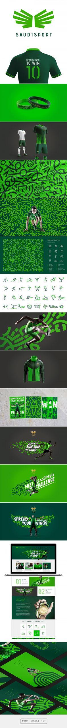 El deporte en Arabia Saudí tiene una nueva marca, creada por Interbrand | Brandemia_... - a grouped images picture - Pin Them All