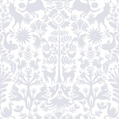 From Hygge & West ~ This removable wallpaper tile is designed by Emily Isabella, inspired by the embroidered textiles of the Otomi people of Mexico. They have a clear, low-tack wall adhesive backing, so they can be reused and are easy to remove ~ perfect for projects that would be difficult with traditional wallpaper.