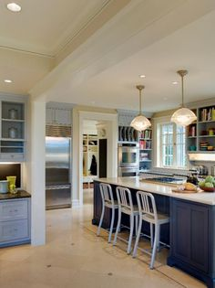 Photo of White Transitional Dining Room project in Seattle, WA by Colleen Knowles Interior Design