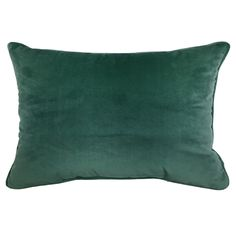 Liven up your home décor with the Velvet Oblong Pillow, x Green. Visit your local At Home store to purchase and find other affordable Throw Pillows. At Home Store, Dream Decor, Pillow Talk, Home Improvement, Velvet, Throw Pillows, Robert Allen, Home Decor, Sweet