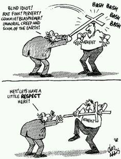 religion vs athéisme