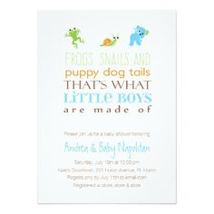 """That's What Little Boys Are Made Of  