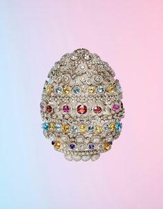 A £1million Egg for Tatler UK.  Photography Catherine Losing, Set Katie Fotis, Retouching The Forge