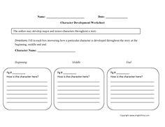static or dynamic character analysis worksheet board pinterest worksheets. Black Bedroom Furniture Sets. Home Design Ideas