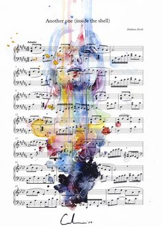 Another One (Inside the Shell) on Sheet Music by agnes-cecile on DeviantArt