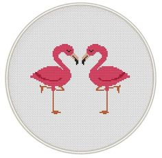 Flamingo cross stitch pattern Bird Сross от MagicCrossStitch