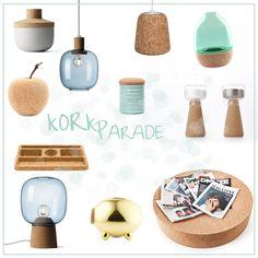 Kork ist die neue Designliebe- http://www.dontkillmyvibe.net/kork-ist-die-neue-designliebe/