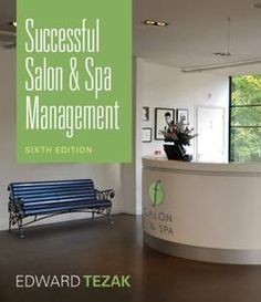 successful salon and spa management - perfect book for anyone looking to open/operate a salon