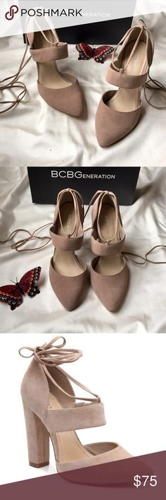 BCBG generation Suede Taupe Pumps These chic suede Pumps from BCBG generation is a style that is sure to make a statement and great addition to your collection. Brand new with box. BCBGeneration Shoes Heels