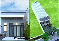 Xây nhà trọn gói tại Biên Hòa My House Plans, House Styles, Outdoor Decor, Home Decor, Fashion, Exterior Design, Moda, Decoration Home, Room Decor