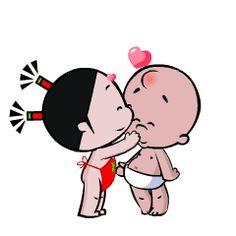 小破孩的女友小丫 GIF动图- GIF搜索-GIF动图搜索平台-GIF动图素材库-GIF动图在线制作工具-无奇动图 Love Heart Images, I Love You Images, Cute Love Gif, Cute Cat Gif, Gif Pictures, Cute Pictures, Snoopy Happy Dance, Little Girl Illustrations, Gif Lindos